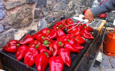 Let's Roast Some Red Peppers…250 to be exact!