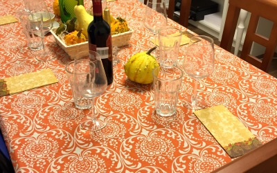 First Thanksgiving in Spain