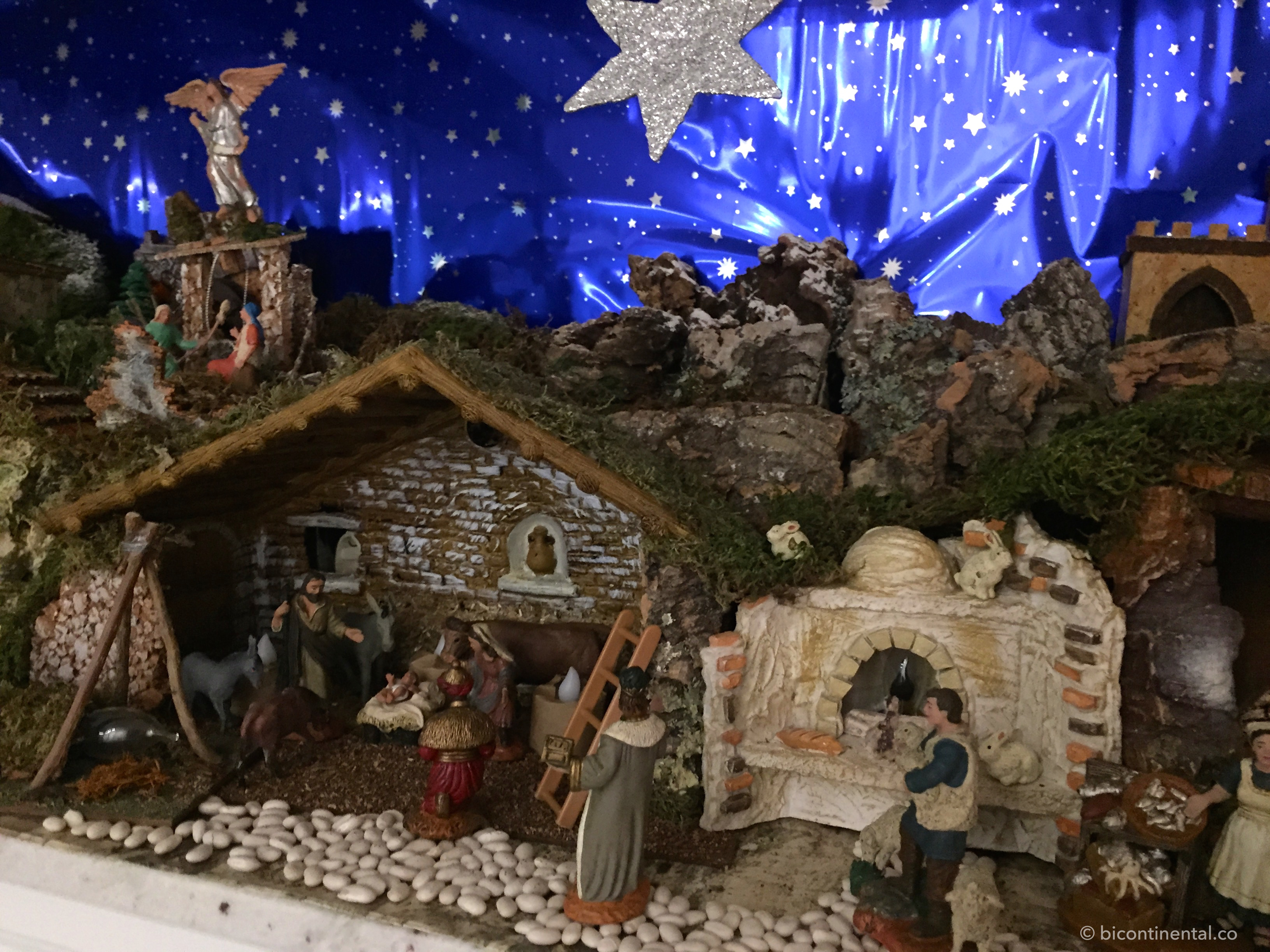 Spanish christmas history traditions bicontinental so now our beln in our house was up and ready but we still hadnt been to see the life size nativity at the city hall that was next on our list of solutioingenieria Images