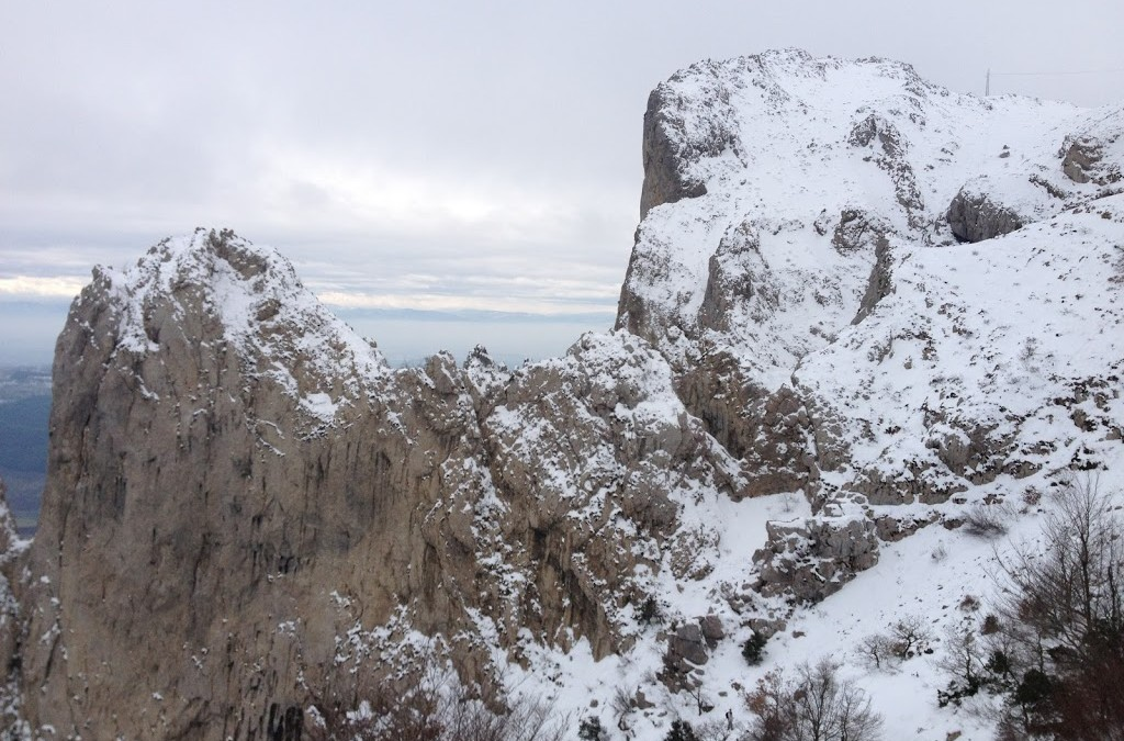 Hiking 'La Sierra Codes'…in the snow no less
